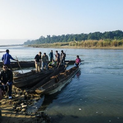 Canyoing in Chitwan National Park