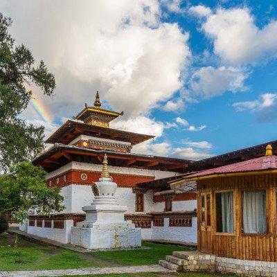Kyichu Lhakhang in Paro Bhutan