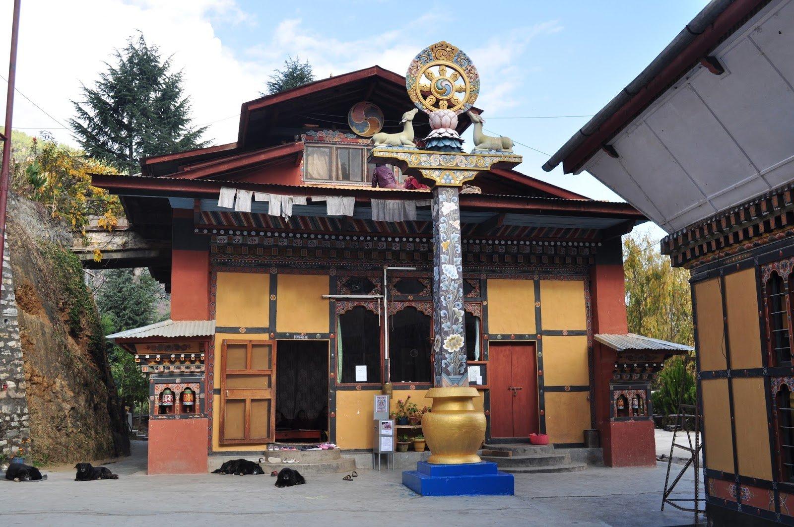 Zilukha Nunnery, Thimphu