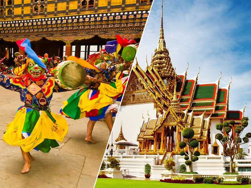 Bhutan and Thailand Tour Package 2