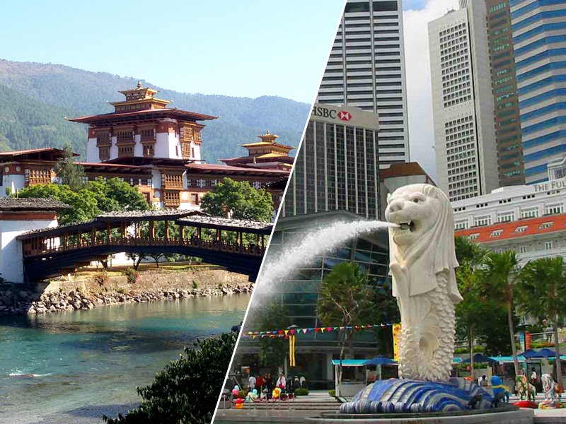 Bhutan and Singapore Travel Package 03
